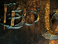 Beowulf:title sequence